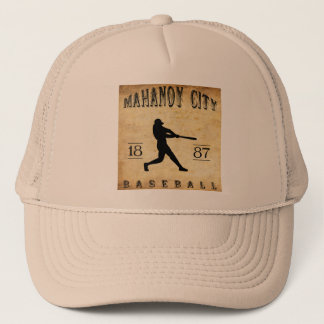 1887 Mahanoy City Pennsylvania Baseball Trucker Hat