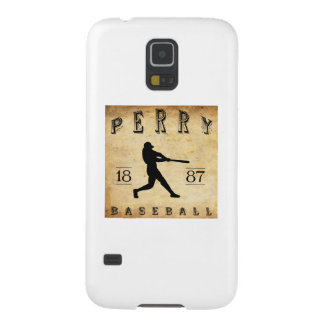 1887 Perry New York Baseball Cases For Galaxy S5
