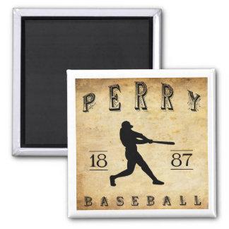1887 Perry New York Baseball Magnet