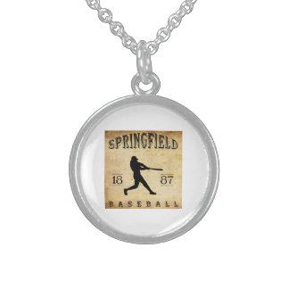 1887 Springfield Missouri Baseball Necklaces