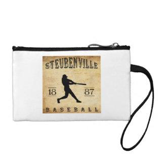 1887 Steubenville Ohio Baseball Change Purse