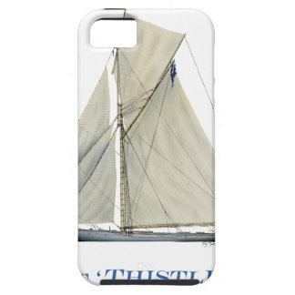 1887 Thistle iPhone SE/5/5s Case