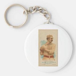 1887 Timothy Keefe Keychain