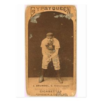1887 tirón Arundel Tarjeta Postal