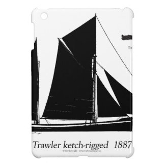 1887 trawler ketch-rigged - tony fernandes iPad mini case