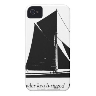 1887 trawler ketch-rigged - tony fernandes iPhone 4 case