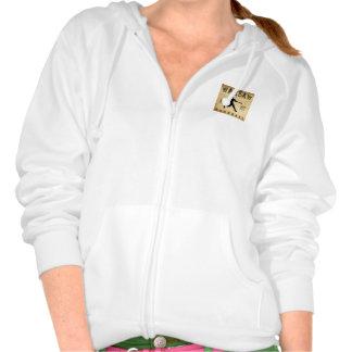 1887 Warsaw New York Baseball Hooded Sweatshirt