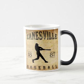 1887 Zanesville Ohio Baseball Magic Mug