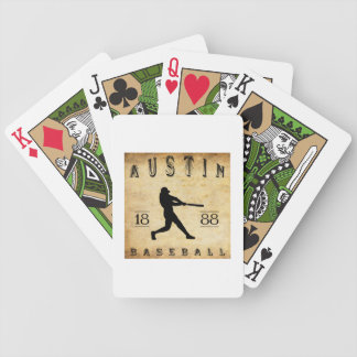 1888 Austin Texas Baseball Bicycle Playing Cards