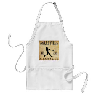 1888 Belleville New Jersey Baseball Aprons