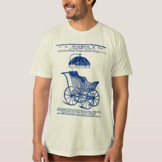 1888 Children's Carriage vintage ad (blue) Shirt