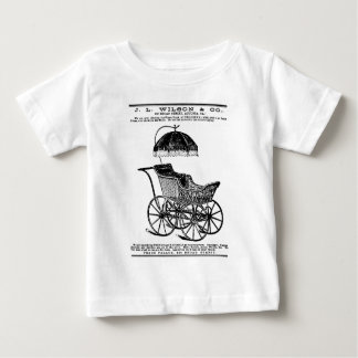 1888 Children's Carriage vintage illustration Baby T-Shirt
