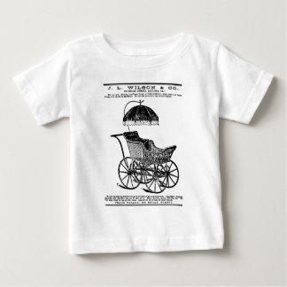 1888 Children's Carriage vintage illustration Infant T-shirt