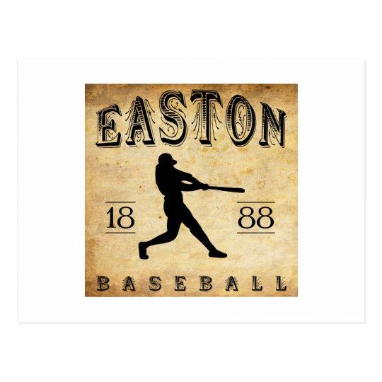 1888 Easton Pennsylvania Baseball Postcard