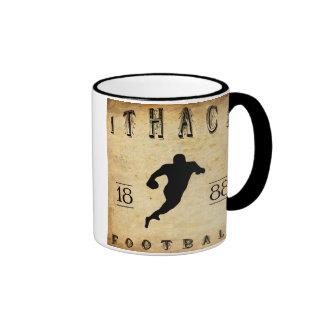 1888 Ithaca New York Football Ringer Coffee Mug