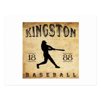 1888 Kingston Ontario Canada Baseball Postcard