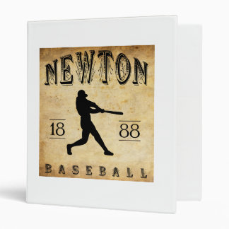 1888 Newton Kansas Baseball Binder