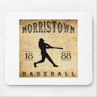 1888 Norristown Pennsylvania Baseball Mouse Pad