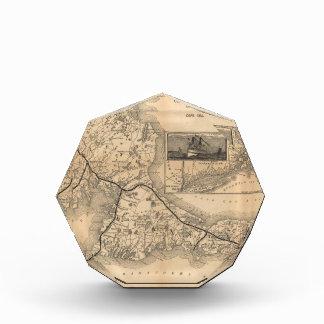 1888_Old_Colony_Railroad_Cape_Cod_map Award