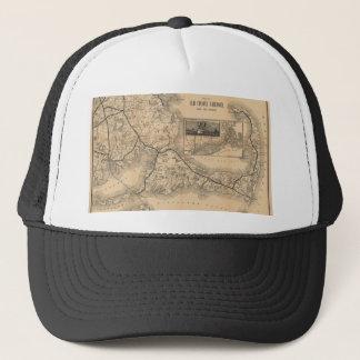 1888_Old_Colony_Railroad_Cape_Cod_map Trucker Hat
