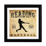 1888 Reading Pennsylvania Baseball Jewelry Box