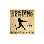 1888 Reading Pennsylvania Baseball Postcards