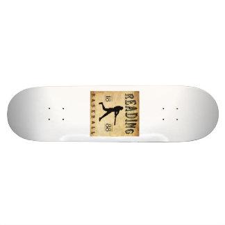 1888 Reading Pennsylvania Baseball Custom Skateboard