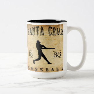1888 Santa Cruz California Baseball Mugs