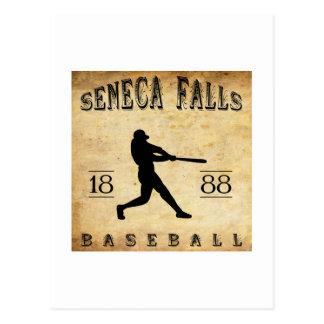 1888 Seneca Falls New York Baseball Postcard