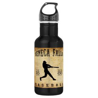 1888 Seneca Falls New York Baseball Stainless Steel Water Bottle