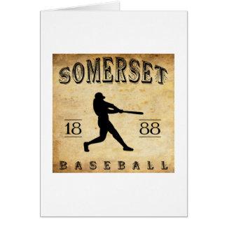 1888 Somerset New Jersey Baseball Card