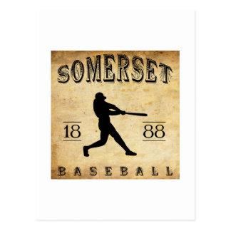 1888 Somerset New Jersey Baseball Postcard