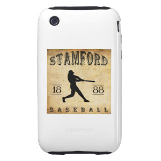 1888 Stamford Connecticut Baseball Tough iPhone 3 Case