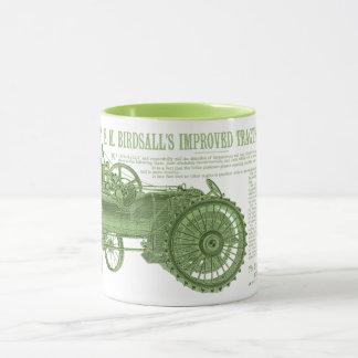 1889 Birdsall's  Steam Traction Tractor Farm Mug