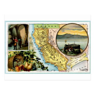 1889 California Vintage Card Postcard