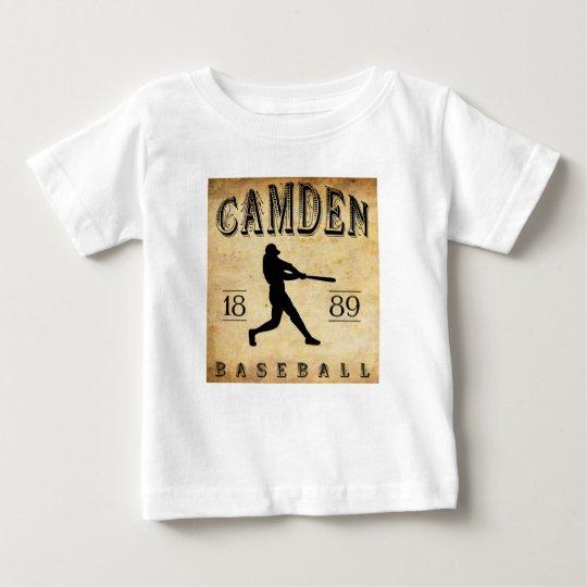 1889 Camden Delaware Baseball Baby T-Shirt