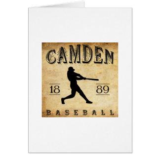 1889 Camden Delaware Baseball Card
