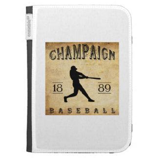 1889 Champaign Illinois Baseball Kindle Cover