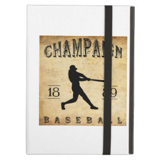 1889 Champaign Illinois Baseball iPad Cases