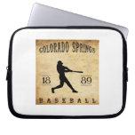 1889 Colorado Springs Colorado Baseball Computer Sleeves