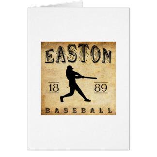 1889 Easton New Jersey Baseball Card