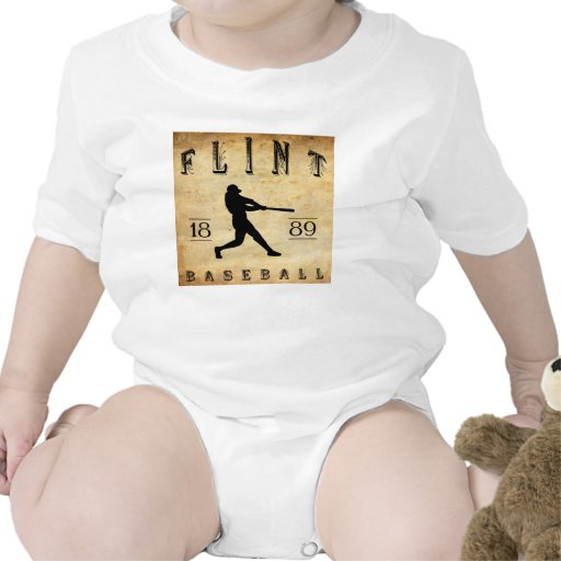 1889 Flint Michigan Baseball Romper