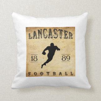 1889 Lancaster Pennsylvania Football Pillows