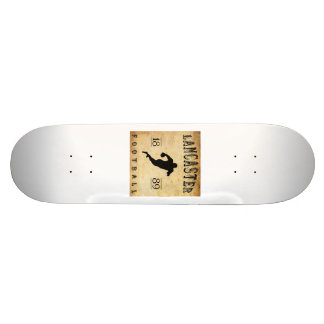 1889 Lancaster Pennsylvania Football Skate Board Decks