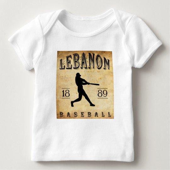 1889 Lebanon Pennsylvania Baseball Baby T-Shirt