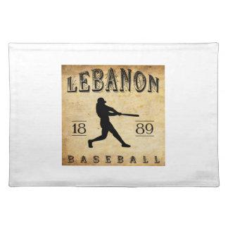 1889 Lebanon Pennsylvania Baseball Place Mats
