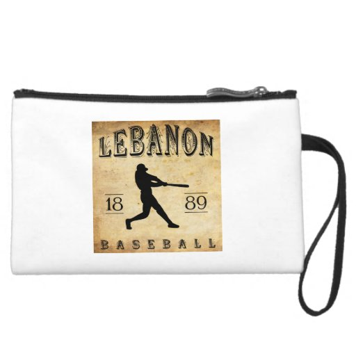 1889 Lebanon Pennsylvania Baseball Wristlet Purses