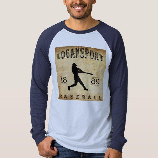 1889 Logansport Indiana Baseball T-Shirt