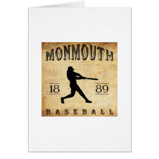 1889 Monmouth Iowa Baseball Card