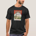 1889 Paris world Fair Eiffel Tower Vintage poster T-Shirt